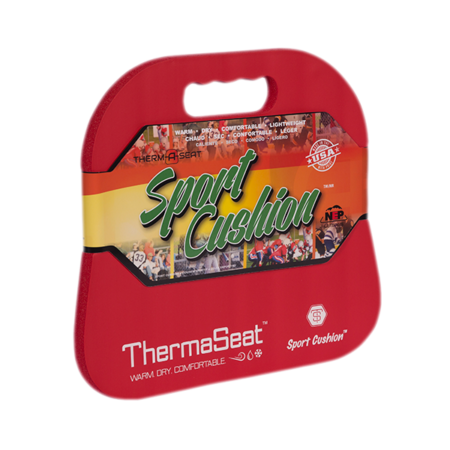 ThermaSeat Lifestyle Sport Cushion Red