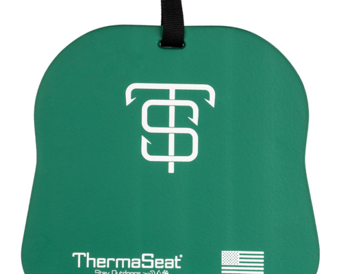 Ice Fishing Thermaseat Green